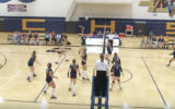 High School Volleyball 10/25/16- McBain Vs. Lake City