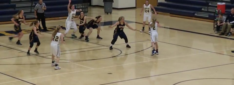 High School Girls Basketball Cadillac Vs. Bay City Central-02/21/17